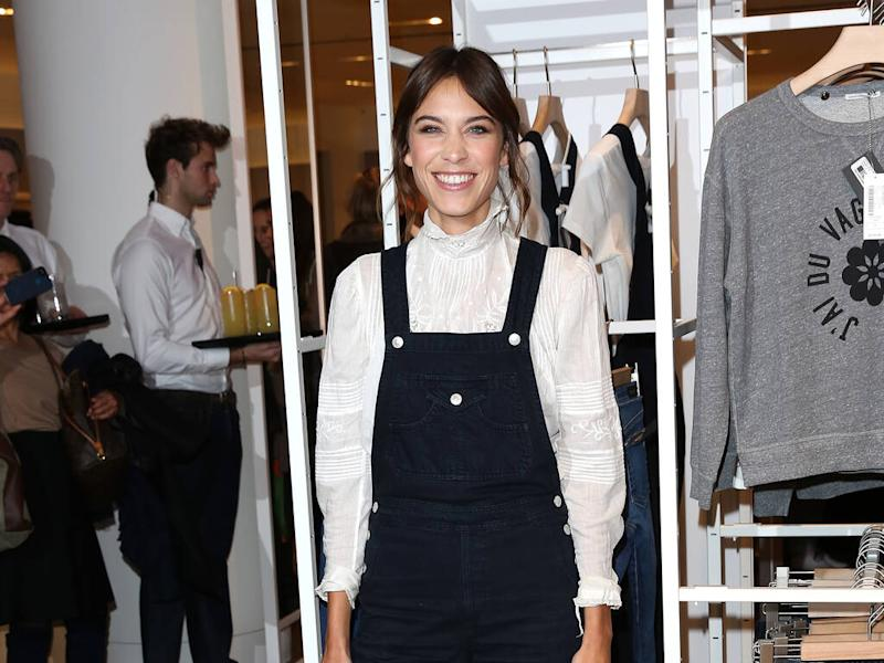 Alexa Chung: 'Dungarees are my comfort blanket'