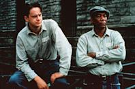 """<a href=""""http://movies.yahoo.com/movie/the-shawshank-redemption/"""" data-ylk=""""slk:THE SHAWSHANK REDEMPTION"""" class=""""link rapid-noclick-resp"""">THE SHAWSHANK REDEMPTION</a> (1994)<br>Directed by: <span>Frank Darabont</span> <br>Starring: <span>Tim Robbins</span> and <span>Morgan Freeman</span>"""