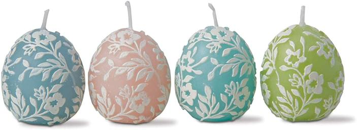 <p>If you love candles, these <span>tag Petunia Easter Egg Candles Set of 4</span> ($21) will brighten up your decor. </p>