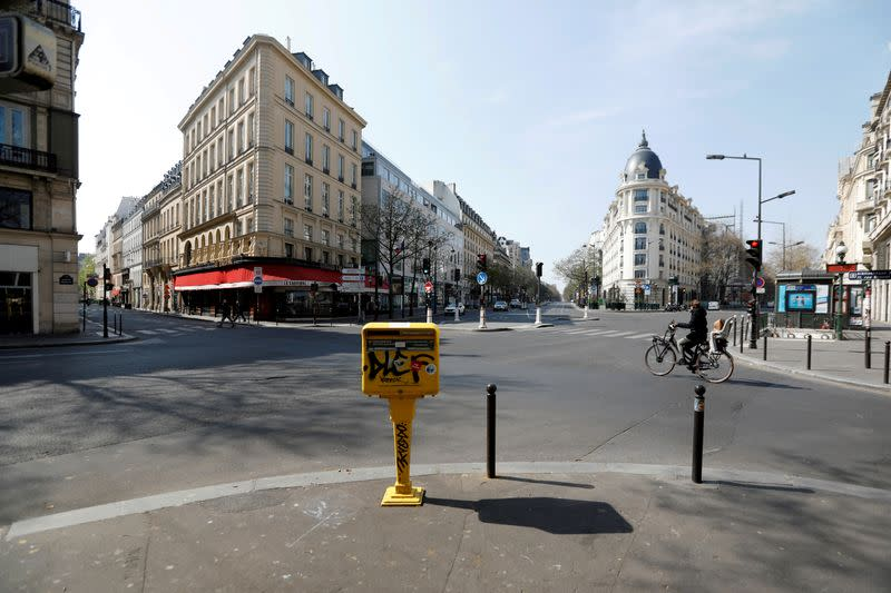 French economy could contract 20% in second quarter -INSEE