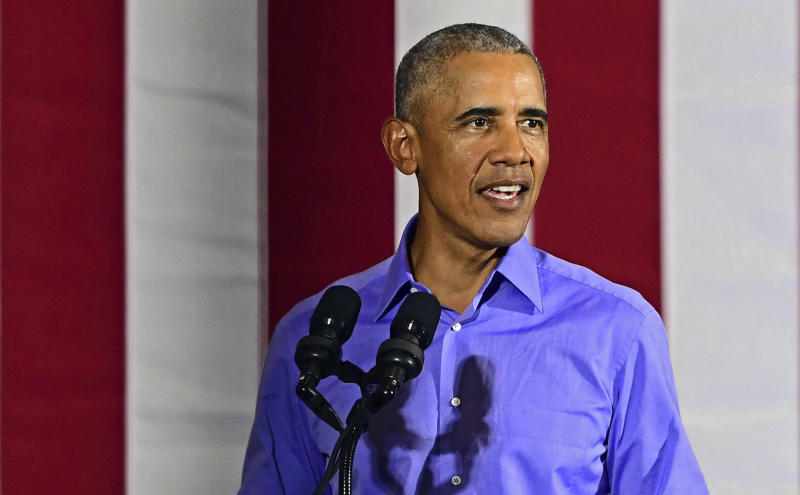 Former President Barack Obama has re-emerged as a force of the campaign trail for Democrats after a period of restraint. He leveled pointed criticisms at President Donald Trump and the GOP at a rally in Cleveland on Thursday.
