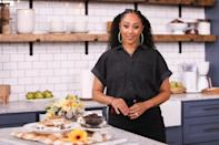 <p>Tamera Mowry-Housley stopped by the set of Hallmark Channel's <em>Home & Family</em> at Universal Studios Hollywood in Universal City, California.</p>