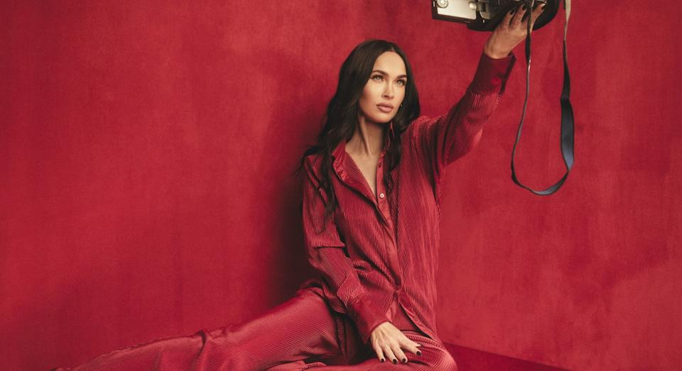 Megan Fox launches first ever fashion collaboration. (Getty Images)