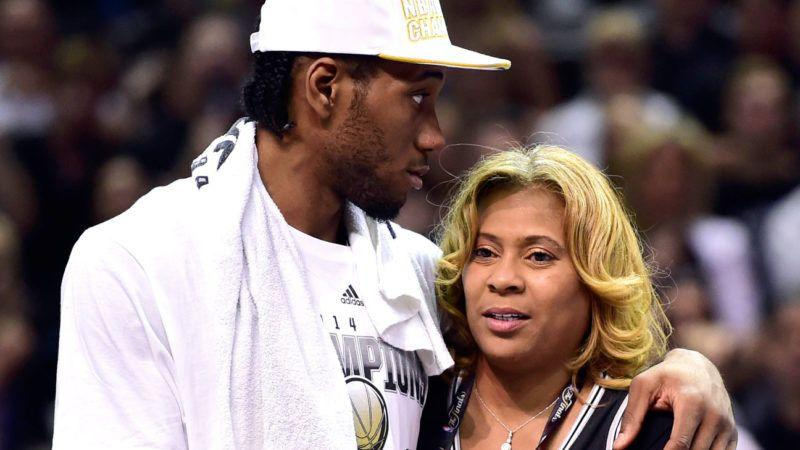 Picture of Kawhi  Leonard Mother, called Kim