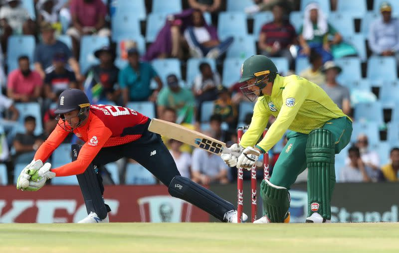 FILE PHOTO: South Africa v England - Third T20