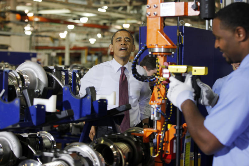 Obama criticizes Michigan right-to-work bills
