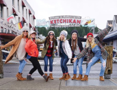 "<p>""Thank you @celebritycruises for the gift of this gorgeous Alaskan cruise with some of my best girlfriends from high school!"" the newlywed wrote as she and her favorite gals posed in their cold-weather gear. ""It only took us 11 years to get here…. First stop Ketchikan!"" (Photo: <a href=""https://www.instagram.com/p/BXyNBfxhJaB/?hl=en&taken-by=juleshough"" rel=""nofollow noopener"" target=""_blank"" data-ylk=""slk:Julianne Hough via Instagram"" class=""link rapid-noclick-resp"">Julianne Hough via Instagram</a>) </p>"