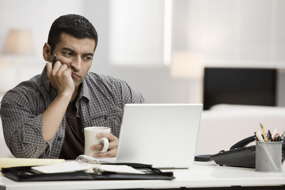 Tired of counting bars? Here's how to boost your bandwidth (Photo: Getty)