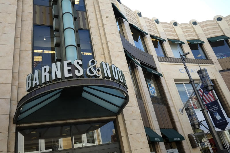 In this Tuesday, Feb. 26, 2013 photo, a Barnes & Noble bookstore is seen in Los Angeles. Barnes & Noble Inc. reports quarterly financial results, Tuesday, June 25, 2013. (AP Photo/Jae C. Hong)