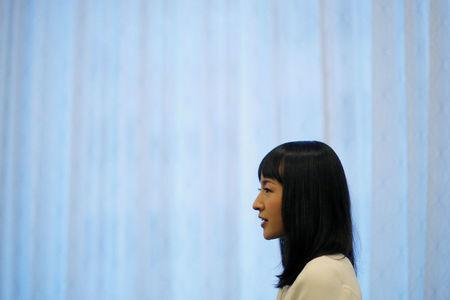 Marie Kondo is interviewed by Reuters at the South by Southwest Music Film Interactive Festival 2017 in Austin