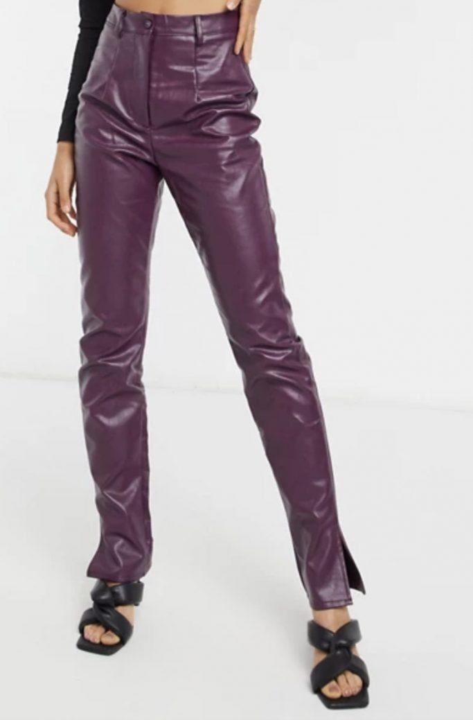Missguided Leather Pants