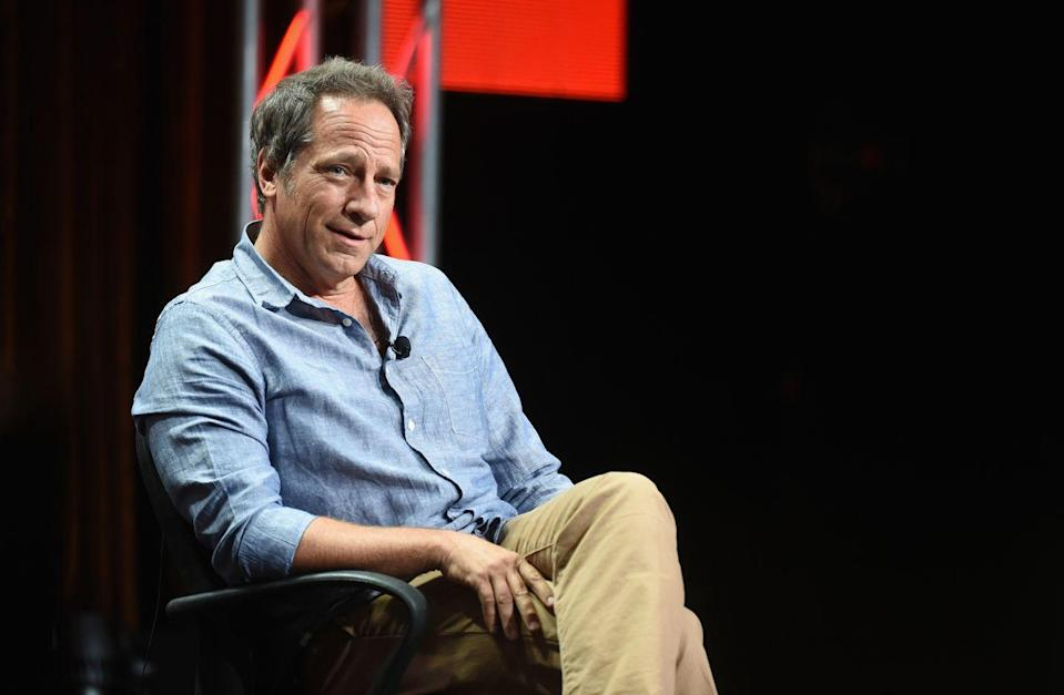 "<p>Host of the Discovery series, <em>Dirty Jobs</em>, Mike Rowe doesn't shy away from much. Whether it's a day of surveying sewer lines or an evening speaking to Boy Scouts at the <a href=""https://boyslife.org/about-scouts/scouting-around/15950/boy-scouts-interview-tv-star-mike-rowe/"" rel=""nofollow noopener"" target=""_blank"" data-ylk=""slk:National Scout Jamboree"" class=""link rapid-noclick-resp"">National Scout Jamboree</a>, you can count on this Eagle Scout to be there, ready to get his hands dirty.</p>"