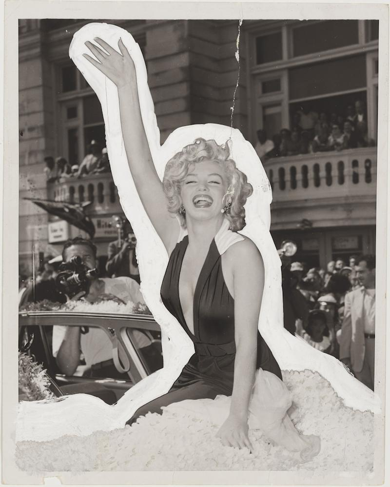 "This image provided by Christie's shows a photograph of Marilyn Monroe that appeared on the first Playboy magazine cover for the December 1953 issue. It is one of 125 items of original art from the Playboy Enterprises archive up for sale at a Dec. 8 auction at Christie's in New York dubbed ""The Year of the Rabbit."" Nearly all the items in the sale have appeared in Playboy magazine, a cultural icon that helped liberate American sexual mores.(AP Photo/CHRISTIE'S IMAGES LTD.)"