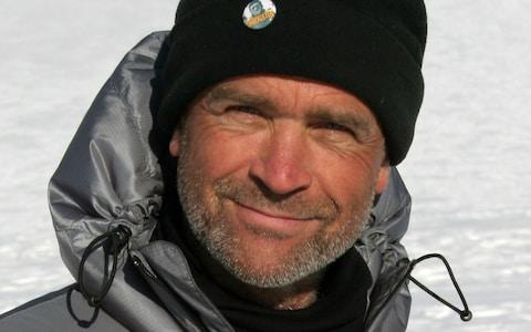 Henry Worsley, who died trying to make the same voyage as his friend Ben Saunders - Credit: PA