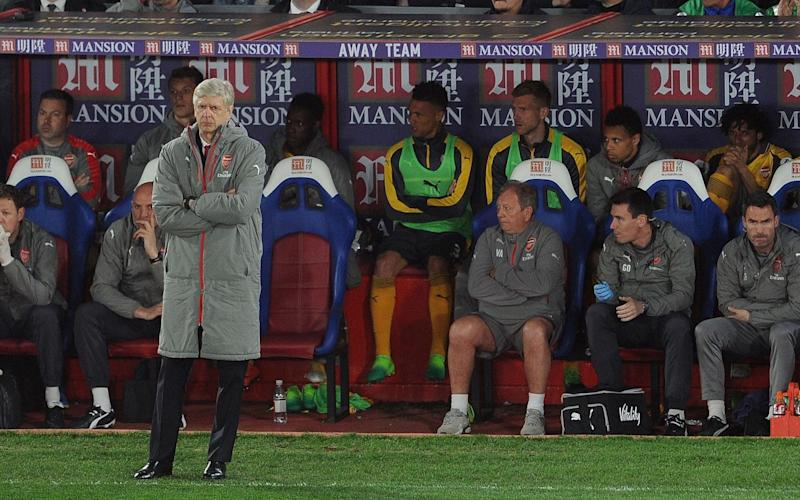 Arsene Wenger is facing increased calls to resign after a miserable run of results - Arsenal FC