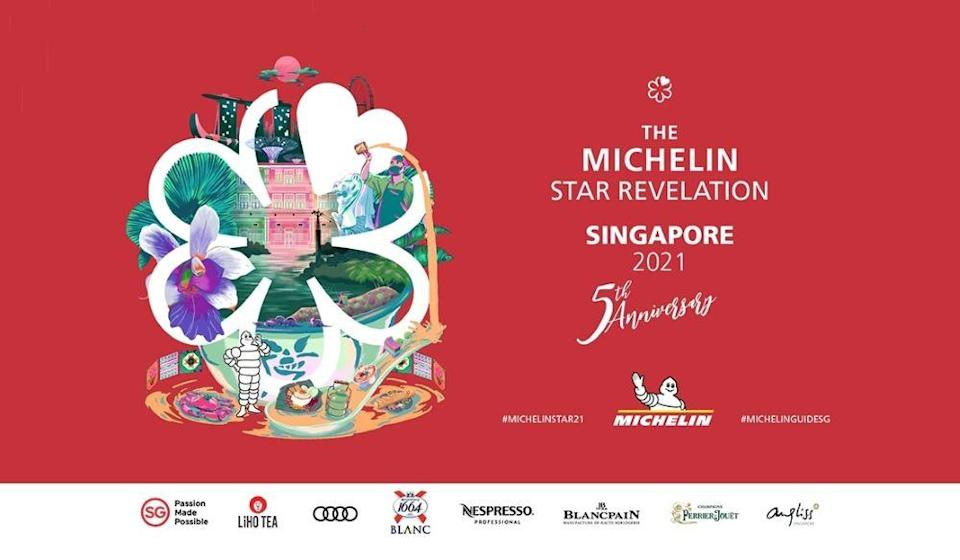 Banner for Michelin Guide Singapore 202