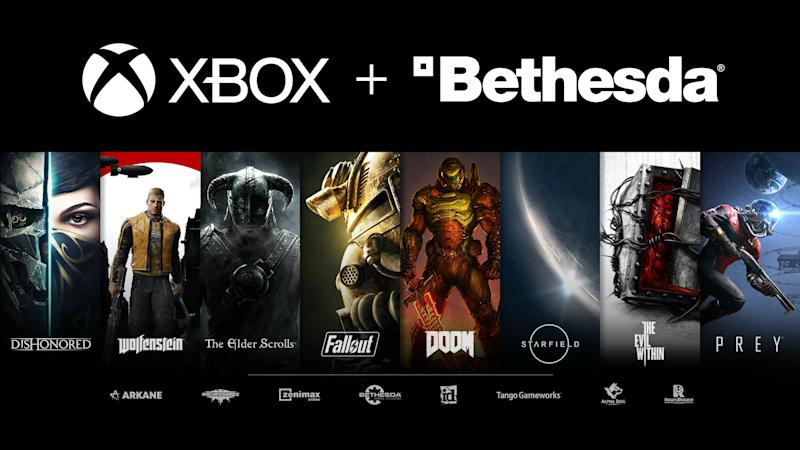 Microsoft's $7.5 billion acquisition of Bethesda parent company ZeniMax is an opportunity for it to crush Sony in the coming console war. (Image: Microsoft)