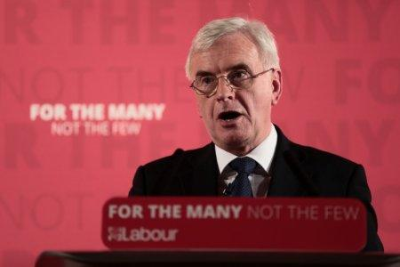 FILE PHOTO: Britain's Shadow Finance Minister John McDonnell, speaks as he sets out Labour's demands for the Spring Statement, in London, Britain, March 9, 2018. REUTERS/Simon Dawson