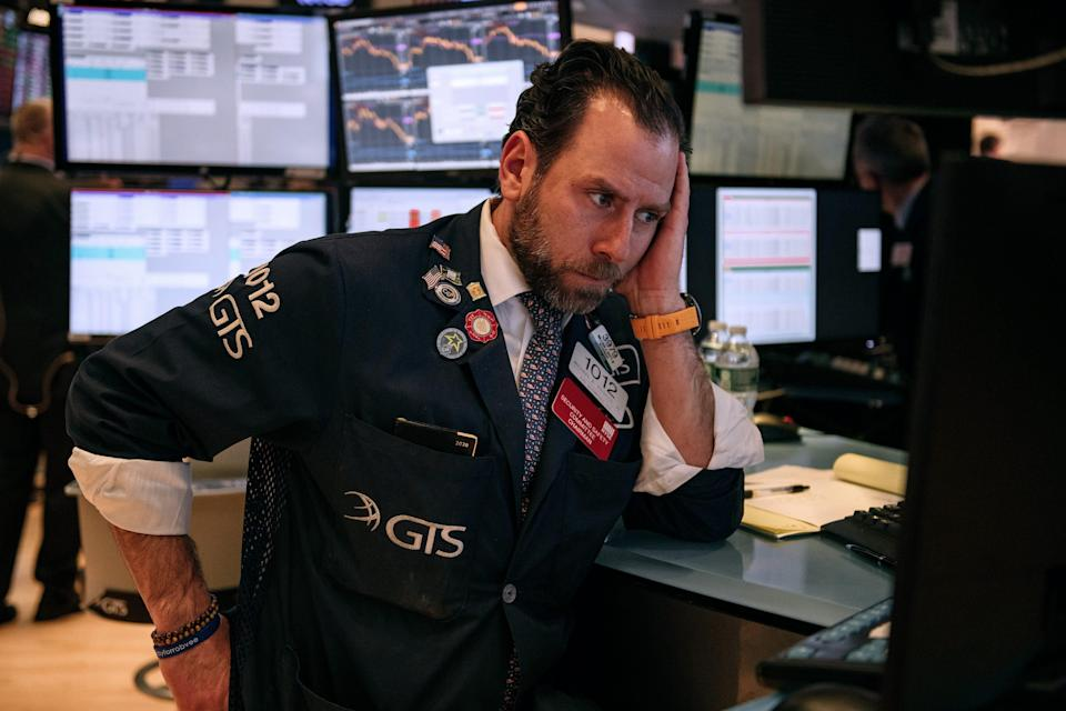 Stocks fell Tuesday after Trump doused hopes for a quick stimulus deal.