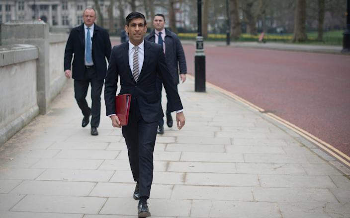 Rishi Sunak is expected to hail the proposed stock market reforms in tomorrow's Budget - Stefan Rousseau /PA