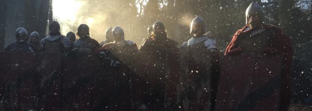 <p>Knights in Snow. The freezing temperatures were tough to work in but these guys never complained. The intense hard work and craft that goes into making a show is always worth it, but on @knightfallshow it was very special. I have never worked so hard to bring something to screen before but I was only able to give what I gave when I was surrounded by the fearless nature of our amazing crew. This is my chance to thank them, so, THANK YOU!!! You're all animals!!! — @tom_cullen #Knightfall #HISTORY<br>(Photo: Instagram) </p>