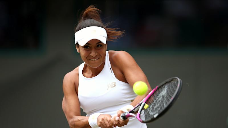 Heather Watson completes a sorry French Open first round for British hopefuls