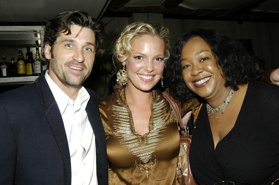"""<p>In an interview with <em>Oprah </em>in 2012, Shonda said that she """"was not surprised"""" with Katherine's Emmy snub, saying: """"When people show you who they are, believe them."""" Later, in 2016, <a href=""""https://www.vanityfair.com/hollywood/2016/04/katherine-heigl-greys-anatomy-shonda-rhimes"""" rel=""""nofollow noopener"""" target=""""_blank"""" data-ylk=""""slk:Katherine revealed"""" class=""""link rapid-noclick-resp"""">Katherine revealed</a> that she was """"embarrassed"""" about the incident and had apologized to Shonda herself, explaining that she did not mean to criticize the """"material"""" on <em>Grey's Anatomy </em>as much as her own performance.</p>"""