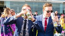Why have one drink at a time when you can have three? Pic: Getty