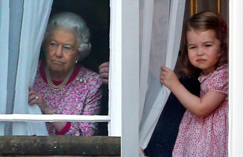 Queen Elizabeth and Princess Charlotte