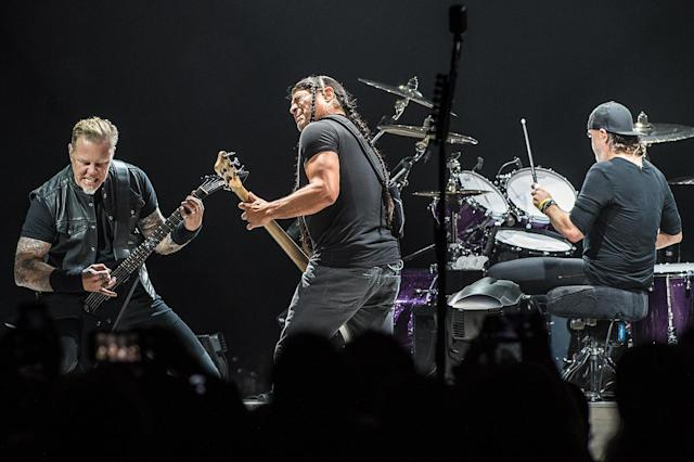 <p>The band's chart-topping album <em>Hardwired … to Self-Destruct</em> was expected to win Best Rock Album, but it lost to <em>A Deeper Understanding</em> from the War on Drugs. Metallica, one of the biggest bands in rock history, has yet to win in this key category. (Photo: Brian Rasic/WireImage) </p>