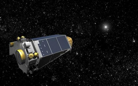 The Kepler space telescope  - Credit: Nasa