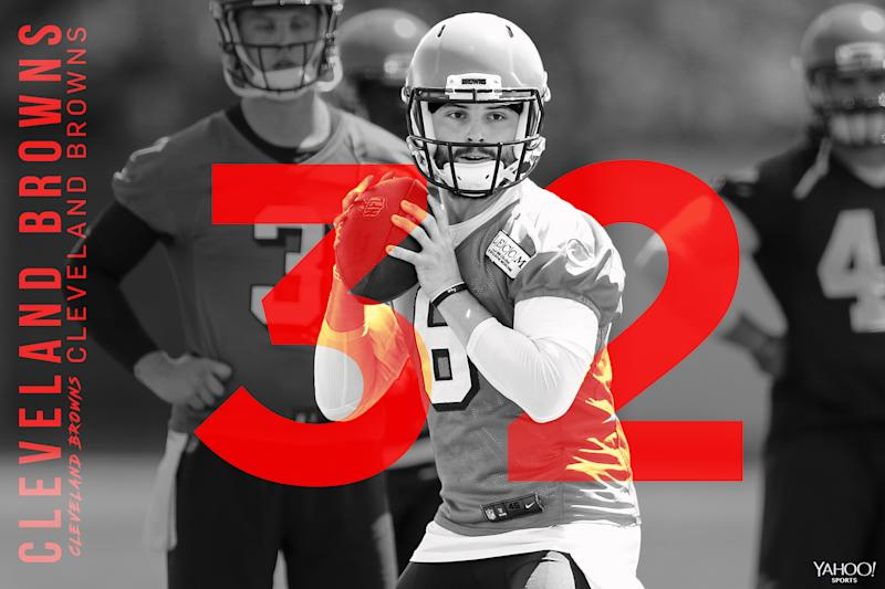 best authentic c63cc 6db1d 2018 NFL Preview: QB Baker Mayfield gives Browns new hope