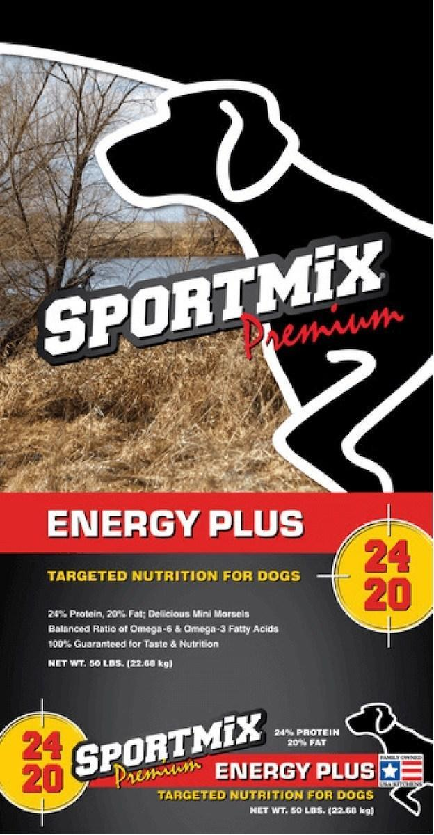 sportmix energy plus dog food has been recalled