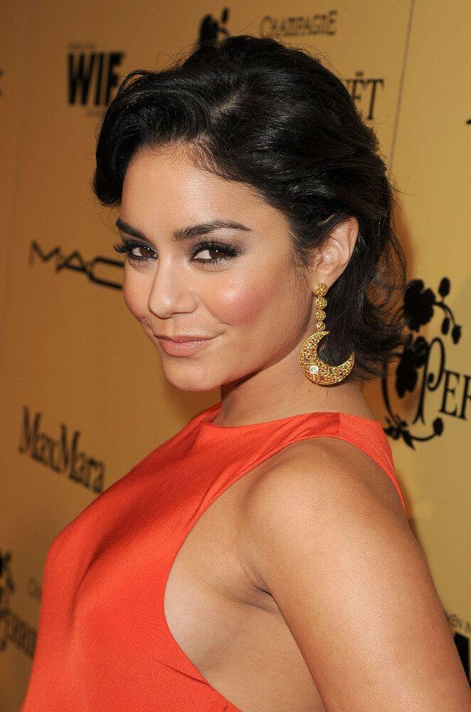 Actress Vanessa Hudgens attends the Fifth Annual Women In Film Pre-Oscar Cocktail Party at Cecconi's Restaurant on February 24, 2012 in Los Angeles, California (Jason Merritt, Getty Images)