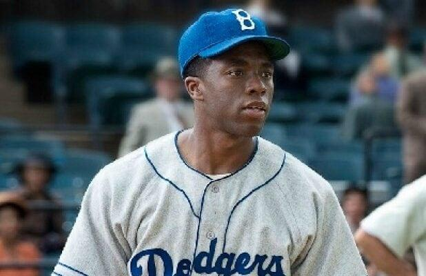 Chadwick Boseman's Jackie Robinson Biopic '42' Gets Theatrical Re-Release