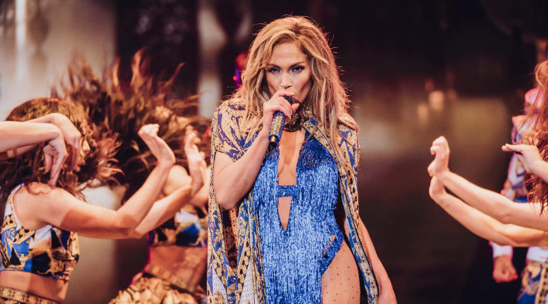 Jennifer Lopez S Tour Outfits Travel On Their Own Bus Cost How Much