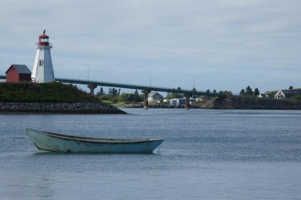 Mulholland Lighthouse, by the bridge between Campobello Island and the United States.
