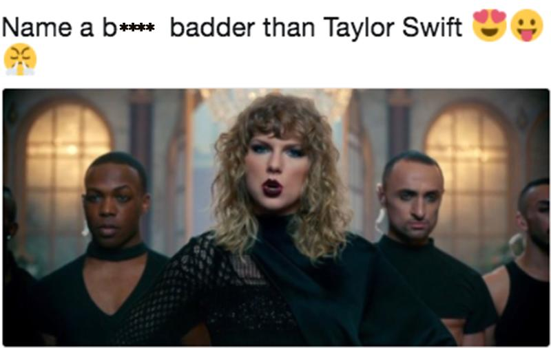 Twitter knows quite a few strong and powerful women besides Taylor Swift. (Photo: Twitter/Nutella/xnulz)