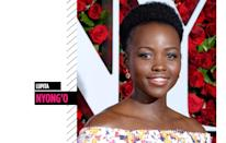 <p>We can't get enough of Lupita Nyong'o's supersmooth skin and lustrous natural hair, which shine from the red carpet to the big screen. (Photo: Getty Images) </p>