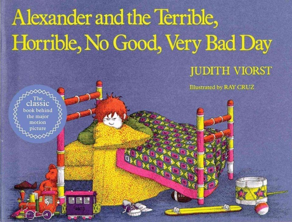8. Alexander and the Terrible, Horrible, No Good, Very Bad Day written by Judith Viorst