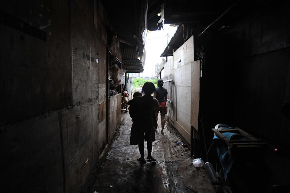 <p>File image: The incidents of violence in the houses have increased drastically since the pandemic began </p> (AFP via Getty Images)