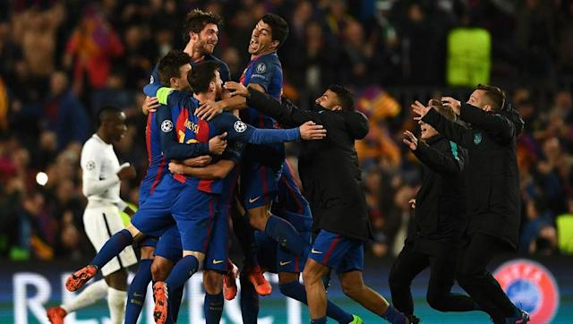 <p>After PSG took a 4-0 lead into the second leg of this Champions League round of 16 tie, most people thought that a Barcelona comeback was impossible, but Lionel Messi and co. had other ideas.</p> <br><p>Barca were 2-0 up at half time thanks to a goal from Luis Suarez and and own goal from Layvin Kurzawa, but even then most people though the chance of a comeback was too much.</p> <br><p>After Messi converted a penalty in the 50th minute and Edinson Cavani pulled one back for PSG, which was a vital away goal, the score was 3-1, and what was to follow can only be described as madness.</p> <br><p>Neymar made it 4-1 in the 88th minute, earned a controversial penalty and converted it for 5-1, and then Sergi Roberto poked home from six yards in the 95th minute to complete the remarkable turn around.</p>