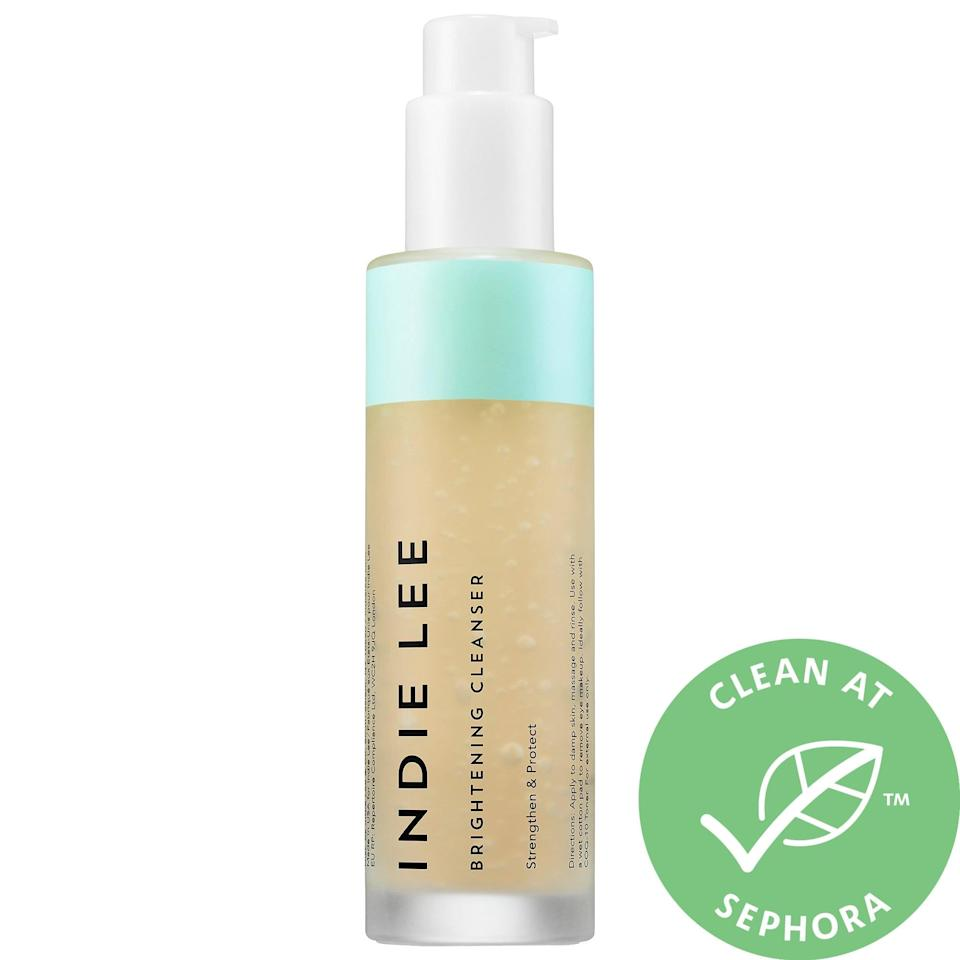 <p>The <span>Indie Lee Brightening Cleanser</span> ($34) is a gel face wash that's rich in antioxidants to cleanse and protect the skin.</p>