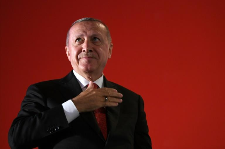 Turkish president Recep Tayyip Erdogan has downplayed challenges to his grip on the nation but former allies are becoming ever more ready to voice criticism (AFP Photo/Ozan KOSE)