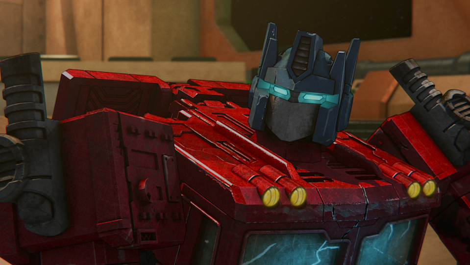 Optimus Prime (Jake Foushee) in  Transformers: War for Cybertron Chapter 2: Earthrise. (PHOTO: Netflix)