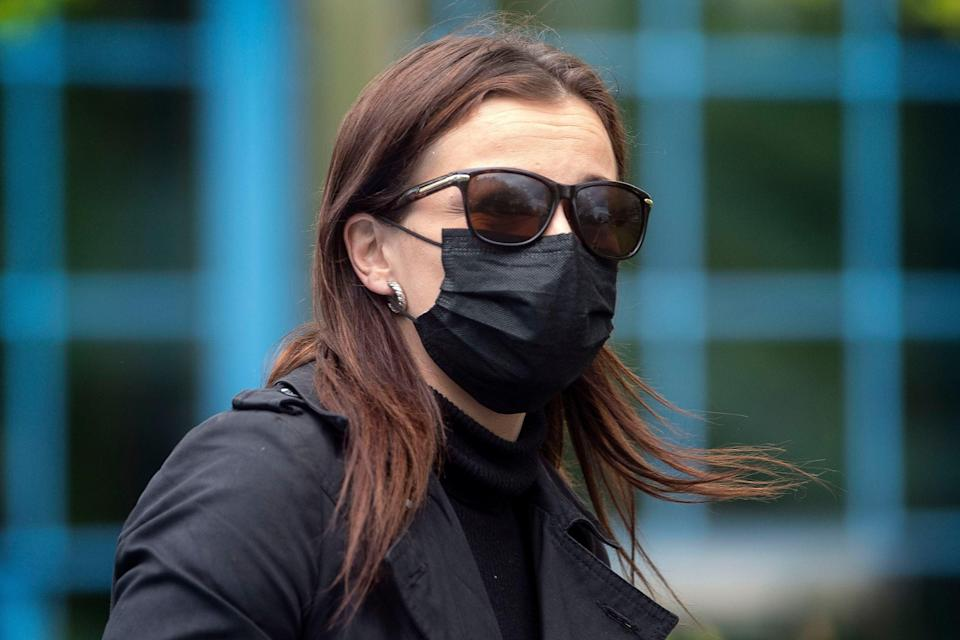 <p>Katie Jarvis denied the charges</p> (PA)