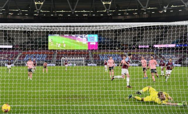 Having done it for West Ham, Declan Rice would be happy to step up and take a penalty for England