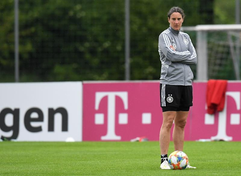 Germany legend Birgit Prinz has returned to the national team set-up to take on the role of team psychologist at this year's World Cup