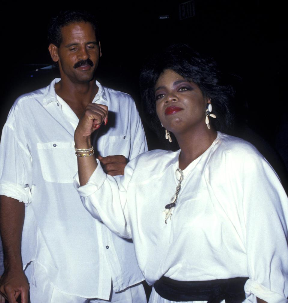 Winfrey and Graham (pictured in 1987) have been a couple since 1986. (Photo: Ron Galella, Ltd./Ron Galella Collection via Getty Images)