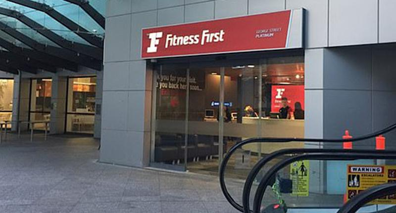 Fitness First George Street location in Sydney